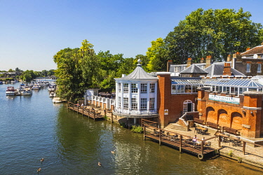 TPX69323 England, London, Hampton Court, The Mitre Hotel, Riverside Restaurant