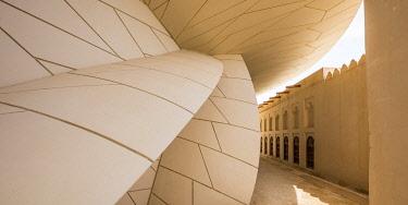 QT01569 National Museum of Qatar by Jean Nouvel, Doha, Qatar