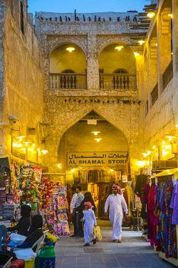 QT01442 Souk Waqif, Doha, Qatar