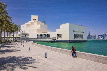 QT01492 Museum of Islamic Art by I.M. Pei, Doha, Qatar