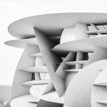 QT01522 National Museum of Qatar by Jean Nouvel, Doha, Qatar