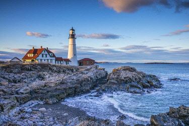 US16306 USA, Maine, Cape Elizabeth,  Portland Head Light lighthouse