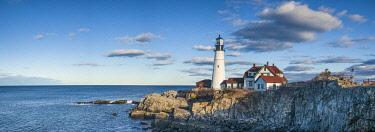 US16309 USA, Maine, Cape Elizabeth,  Portland Head Light lighthouse