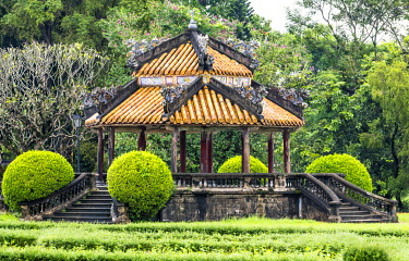VIT1527AWRF Gardens of the the Imperial City, Hue, Vietnam