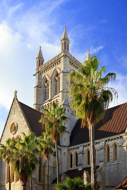 BU01112 Bermuda, Hamilton, Cathedral of the Most Holy Trinity