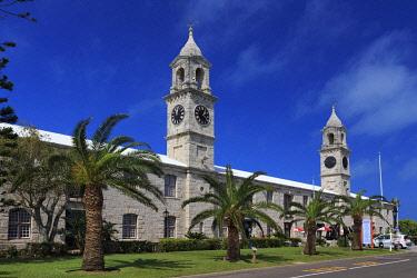 BU01114 Bermuda, Royal Naval Dockyard, the Clocktowers