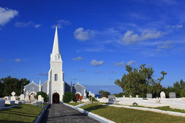 BU01140 Bermuda, South Coast, Sandy Parish, St James Church