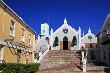 BU01142 Bermuda, St George's Parish, St. George's (UNESCO WORLD HERITAGE SITE)