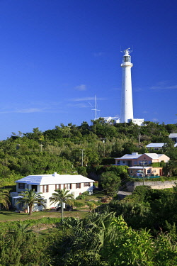BU01149 Bermuda, Southampton Parish, Gibbs Hill lighthouse
