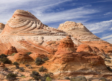 IBXGIR04828245 Red sandstone formations Coyote Buttes North, Paria Canyon Vermillion Cliffs Wilderness, Arizona, USA, North America