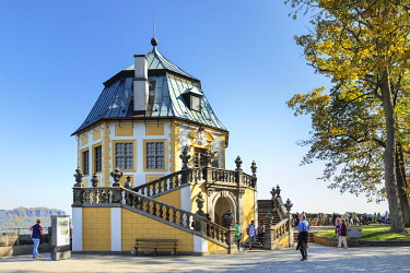 IBLMAL04832770 Friedrichsburg, Baroque Hall of Mirrors, Konigstein Fortress, Saxon Switzerland, Saxony, Germany, Europe