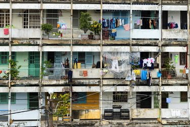 VIT1609AW Asia, Vietnam, Ho Chi Minh City, apartment comlpex