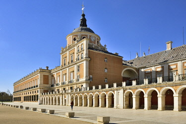 SPA9148AWRF The Royal Palace of Aranjuez (Palacio Real de Aranjuez) is a former Spanish royal residence dating back to the 16th century. A Unesco World Heritage Site. Aranjuez, Spain