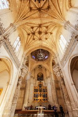 SPA9086AW Church of the Convento de Santa Isabel de los Reyes founded in 1477, a Unesco World Heritage Site. Toledo, Castilla la Mancha. Spain