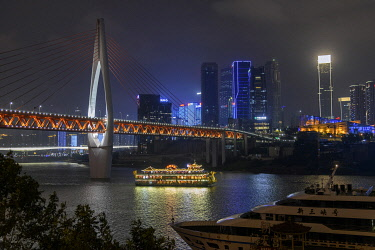 CH11790AW Asia, China, Sichuan Province, Chongqing
