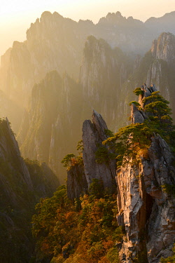 CH11808AW Asia, China, Anhui Province, Mount Huangshan, UNESCO, Yellow Mountain
