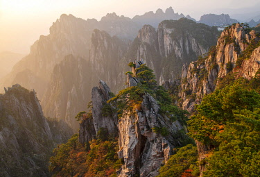 CH11809AW Asia, China, Anhui Province, Mount Huangshan, UNESCO, Yellow Mountain