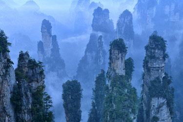CH11827AW China, Hunan Province, Wulingyuan, Wuling Mountain,
