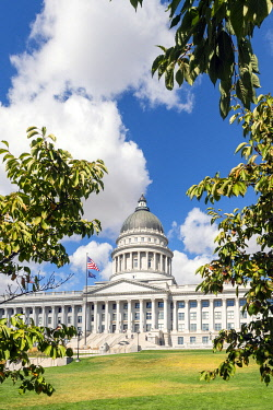 USA14380AW State Capital building, Salt Lake City, Utah, USA