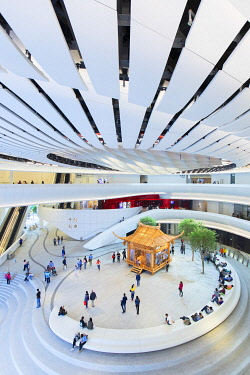 CH11850AW Interior of Xiqu Centre, West Kowloon, Hong Kong, China
