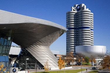 IBLBFM01843785 BMW Welt, Munich, Bavaria, Germany, Europe