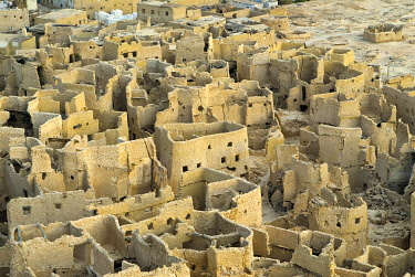 Ruined city of Siwa, Egypt, Africa