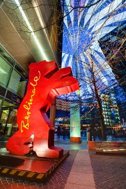 IBLOHA01847238 Berlinale Bear in the Sony Center, Berlin, Germany, Europe