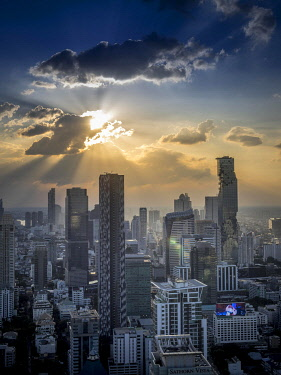 IBLOOC04813504 Skyline of Bangkok, Thailand, Asia