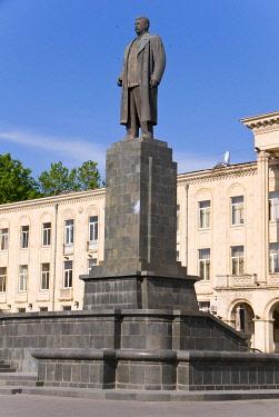 IBLRUN01854377 Statue of Stalin, Gori, Georgia, Middle East, Asia