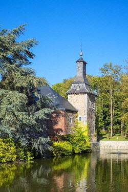 BEL1868AW Belgium, Waloon Region (Wallonia), Liege Province. Chateau de Jehay Castle.