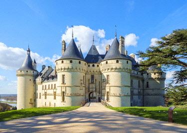 FRA11190AW Château de Chaumont castle, Chaumont-sur-Loire, Loire-et-Cher, Centre, France.