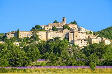 FRA11307AW Hilltop town of Banon, Alpes-de-Haute-Provence, Provence-Alpes-Côte d'Azur, France
