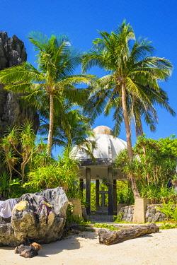 PHI1617AW Matinloc Shrine on Matinloc Island, El Nido, Palawan, Philippines