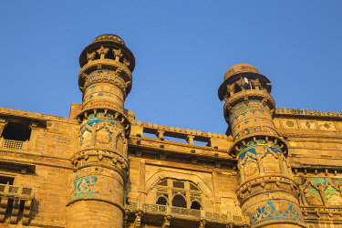 IN353RF India, Madhya Pradesh, Gwalior, Gwalior Fort, Man Singh Palace