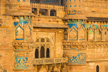 IN398RF India, Madhya Pradesh, Gwalior, Gwalior Fort, Man Singh Palace