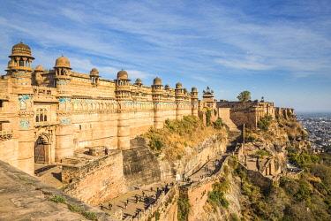 IN08403 India, Madhya Pradesh, Gwalior, Gwalior Fort, Man Singh Palace