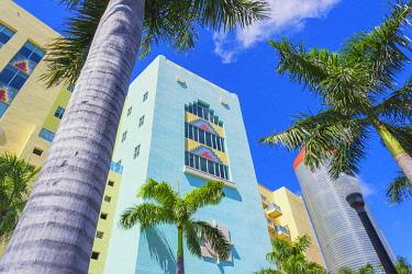 USA14496AW Art Deco District, Miami beach, Miami, Florida, USA