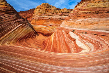 US03RBS0099 The Wave, Coyote Buttes, Paria-Vermilion Cliffs Wilderness, Arizona, USA