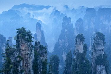 CH11981AW China, Hunan Province, Wulingyuan, Wuling Mountain