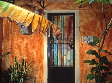 SA13BJY0254 Mexico, Puerto Vallarta. Exterior of house