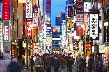 JAP1666 Asia, Japan, Tokyo, Shinjuku, Kabukicho
