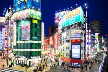 JAP1670 Asia, Japan, Tokyo, Shinjuku,