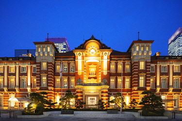 JAP1699 Asia, Japan, Tokyo, Tokyo station red brick building
