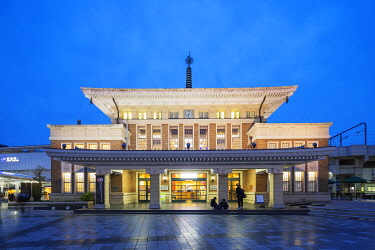 JAP1784 Asia, Japan, Nara train station, tourist office building