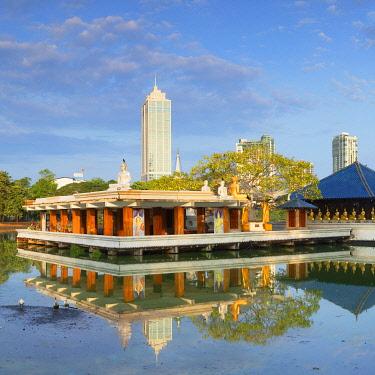 SRI2323AW Seema Malakaya on Bere Lake, Colombo, Sri Lanka