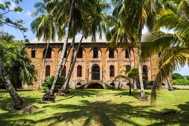 IBXRUN04870371 Former political imprisonment on Devils island, Iles du Salut, French Guiana, South America