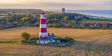 UK08502 UK, England, East Anglia, Norfolk, Happisburgh LIghthouse
