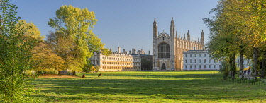 UK08516 UK, England, Cambridge, The Backs, King's College, King's College Chapel
