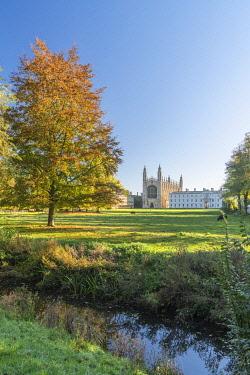 UK08518 UK, England, Cambridge, The Backs, King's College, King's College Chapel