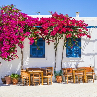 GR386RF Lefkes Village, Paros, Cyclade Islands, Greece